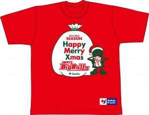 クリスマス限定Tシャツ前
